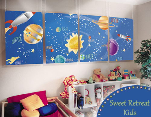 Outer Space Kids Mural That S Out Of This World Sweet