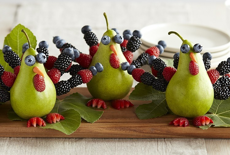 Berry Turkeys