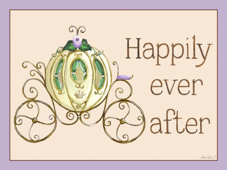 Fairy Tale Happily Ever After Personalized Artwork