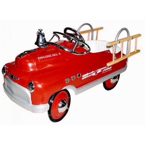 Fire Truck Comet Pedal Car