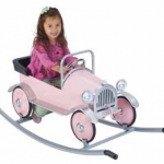 Relive your childhood with a kids' pedal car