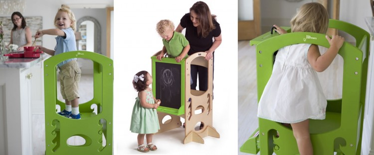 The Learning Tower in Apple Green