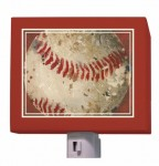 Vintage Baseball Nightlight