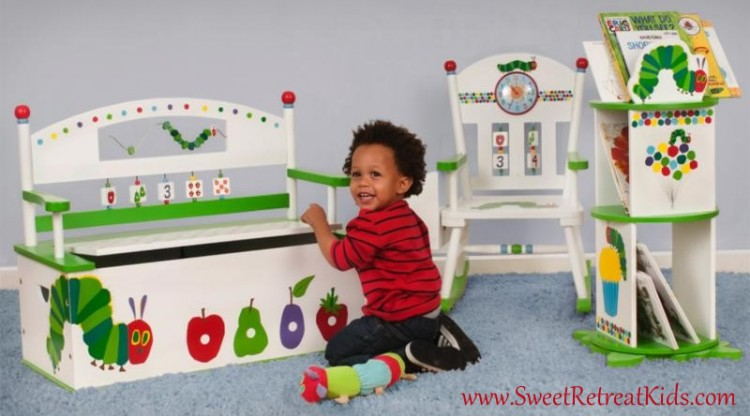 Very Hungry Caterpillar Furniture Set