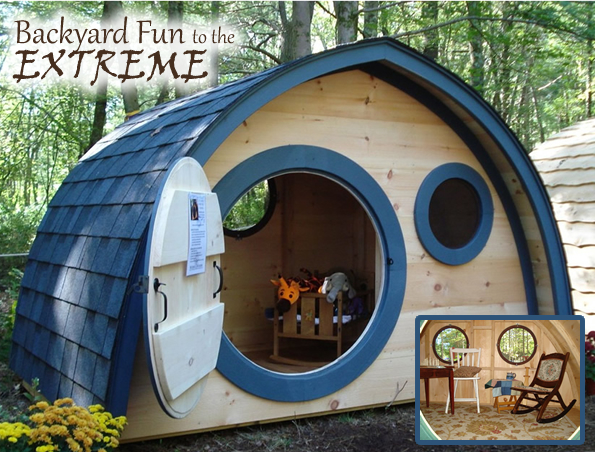 Hobbit Hole Outdoor Playhouses