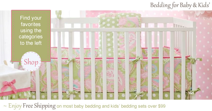 Kids Bedding at Sweet Retreat Kids