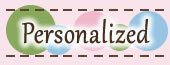 Personalization - All Products