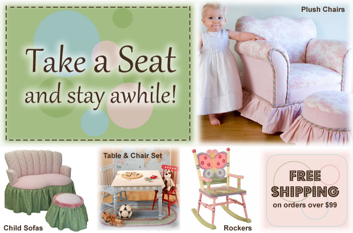 Chairs Rocking Chairs Plush Seating For Kids Sweet