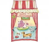 Pet Shop Window Accent Mural Citrus / Pink