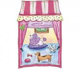 Pet Shop Window Accent Mural Pink/Purple