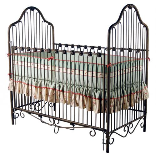 Oil Rubbed Bronze Iron Crib