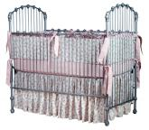 Silver Heirloom Iron Crib