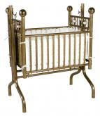 Solid Brass Cradle
