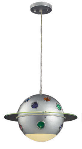 Outer Space Constellation Pendant Light