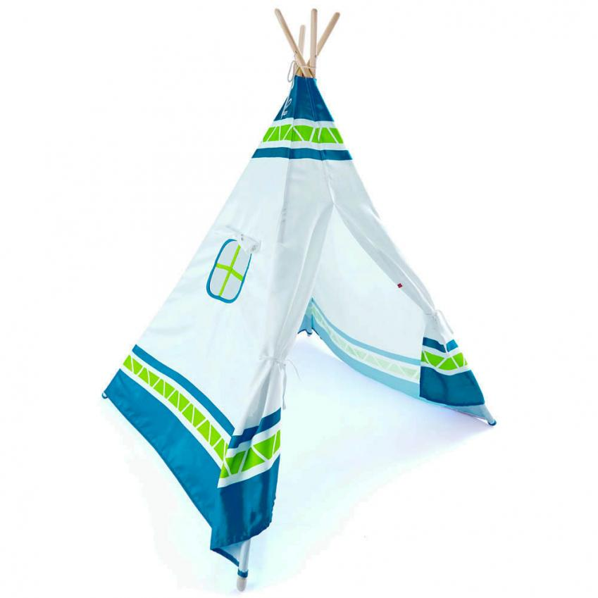 Red Teepee Tent Thumbnail 1
