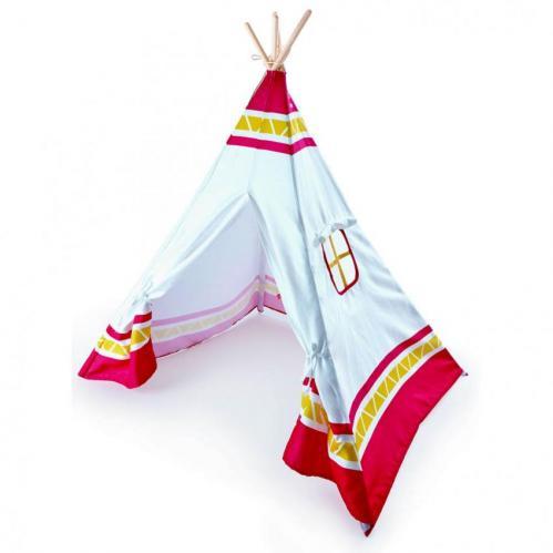 Red Teepee Tent Thumbnail