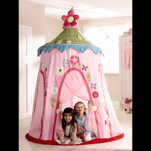 Floral Wreath Play Tent Thumbnail