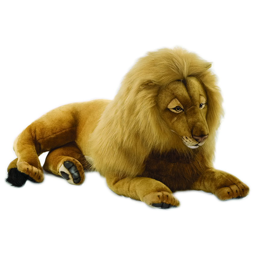 Lance The Lion By Hansa Life Size