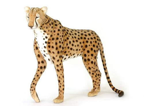 Cheddar The Standing Cheetah By Hansa Life Size