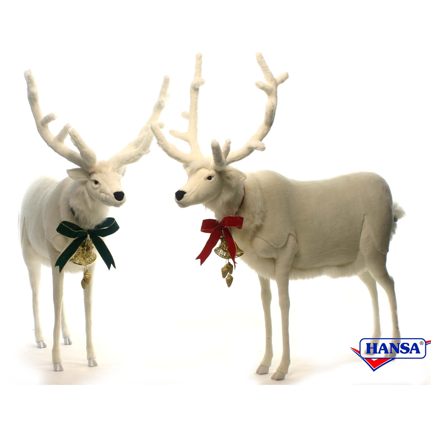 Wesley and Wheeler the White Deers by Hansa Thumbnail 2