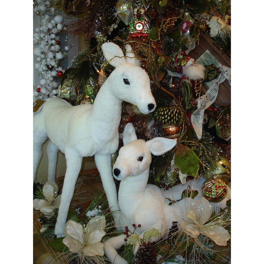 Wiley the White Baby Deer by Hansa Thumbnail 2