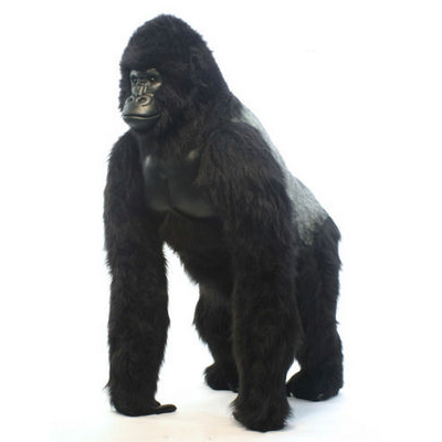 Selena the Silver Back Gorilla by Hansa