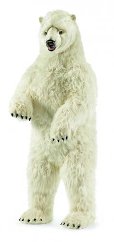 Pearl the Standing Polar Bear by Hansa (Life Size)
