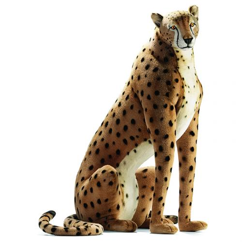 Chet the Sitting Cheetah by Hansa (Life Size)