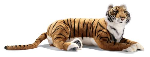 Betsy the Lying Bengal Tiger by Hansa (Ride On)