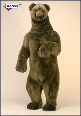 Gus the Life Size Grizzly by Hansa