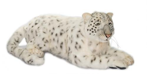 Snowflake the Snow Leopard by Hansa (Life Size)