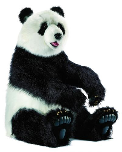 Pepper the Panda Bear by Hansa (Life Size)