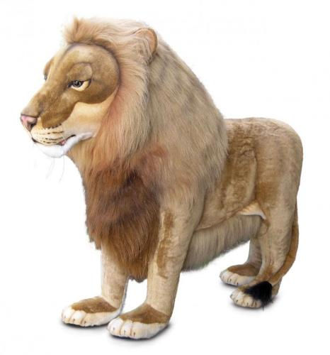 Leonardo the Standing Lion by Hansa (Life Size)