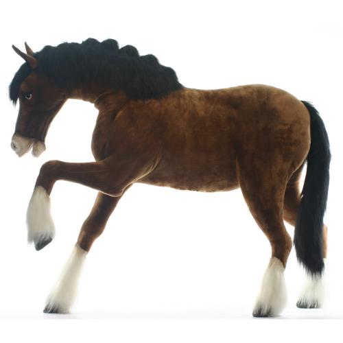 Claire the Pracing Clydesdale by Hansa