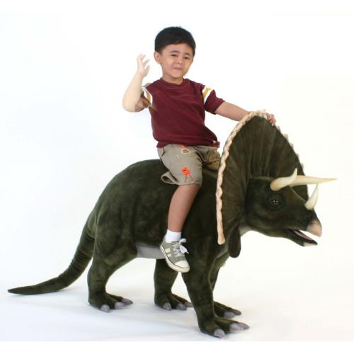 Trey the Triceratops by Hansa