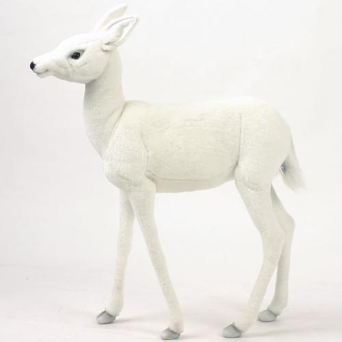 Wiley the White Baby Deer by Hansa Thumbnail