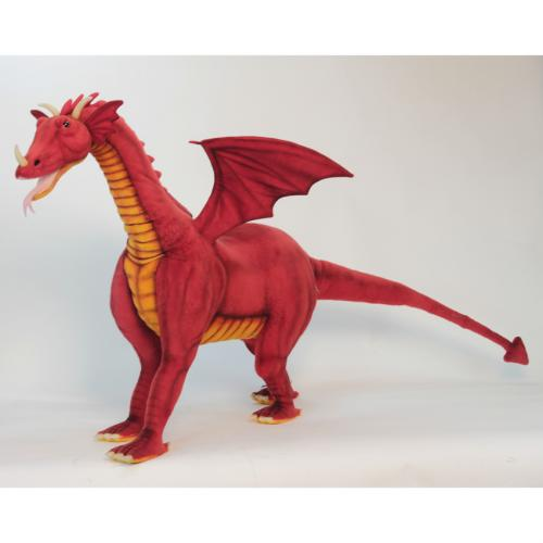 Riley the Ride On Red Dragon by Hansa