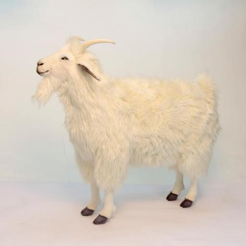 Wally the White Goat by Hansa
