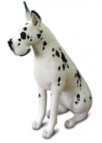 Harlequin the Great Dane by Hansa (Life Size)