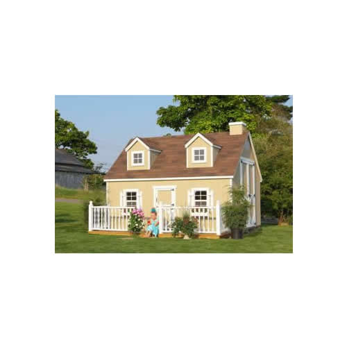 10' x 12' Cozy Cottage Playhouse Main Thumbnail