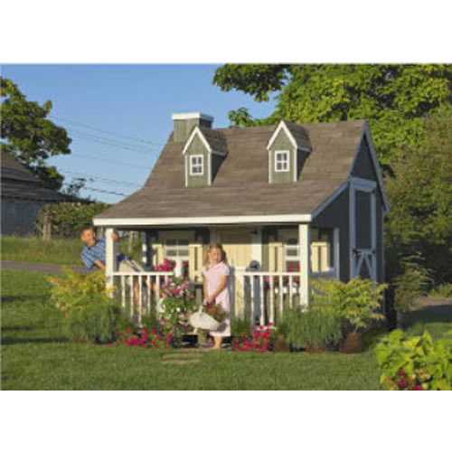 Country Cottage Playhouse (9x8 or 11x8) Thumbnail 1