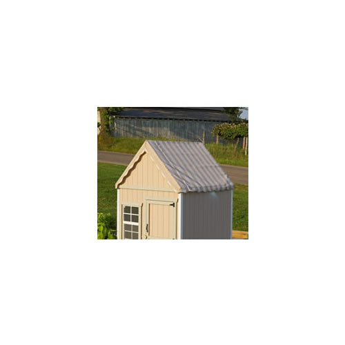 The Sugar and Spice 4' x 4' Wooden Playhouse Thumbnail 8