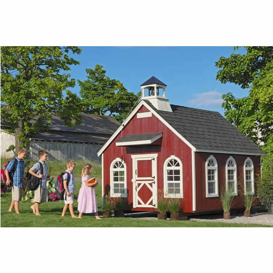 Little Red Schoolhouse Playhouse Main Thumbnail