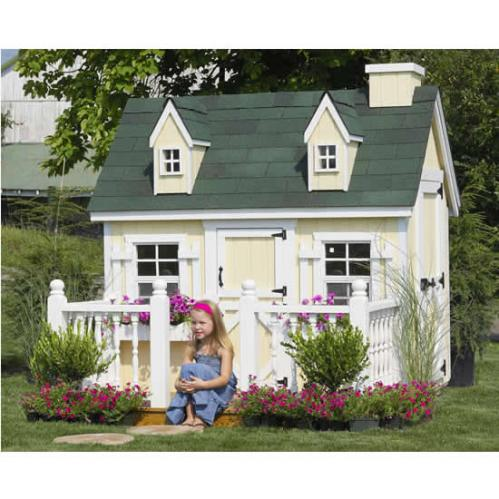 Outdoor Playhouse Cozy Cottage 4 X 6 Thumbnail