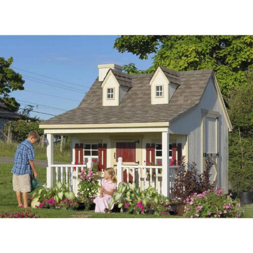 Country Cottage Playhouse (9x8 or 11x8) Thumbnail