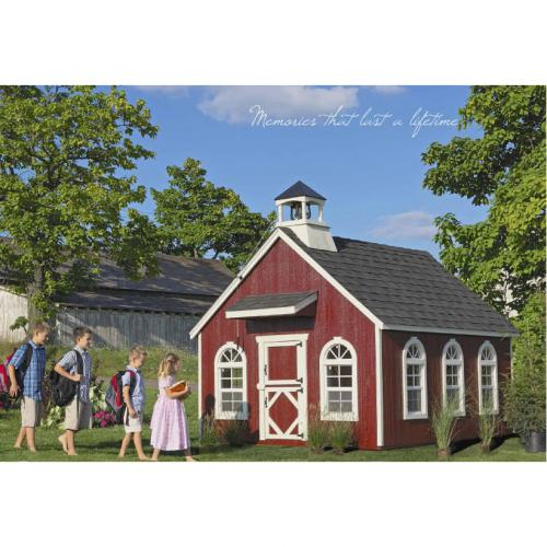 Little Red Schoolhouse Playhouse Thumbnail