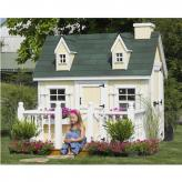 Outdoor Playhouse, Cozy Cottage 4' x 6'