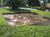 Preparing Site for Playhouse - Removing Soil