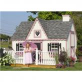 Tea Time Playhouse (8' x 10', 8' x 12', or 10' x 12')