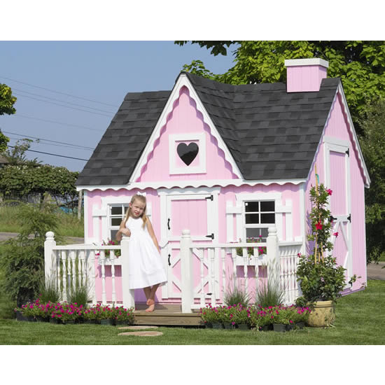 Tea Time Playhouse 6 X 8 Or 8 X 8